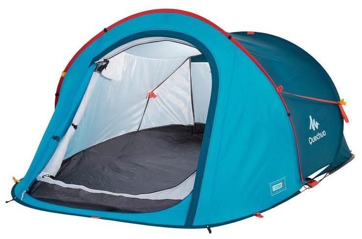 Blue Quechua Tent