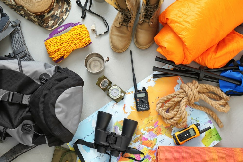 Camping gears and equipment