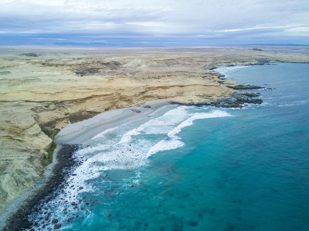Aerial view of Atacama Desert