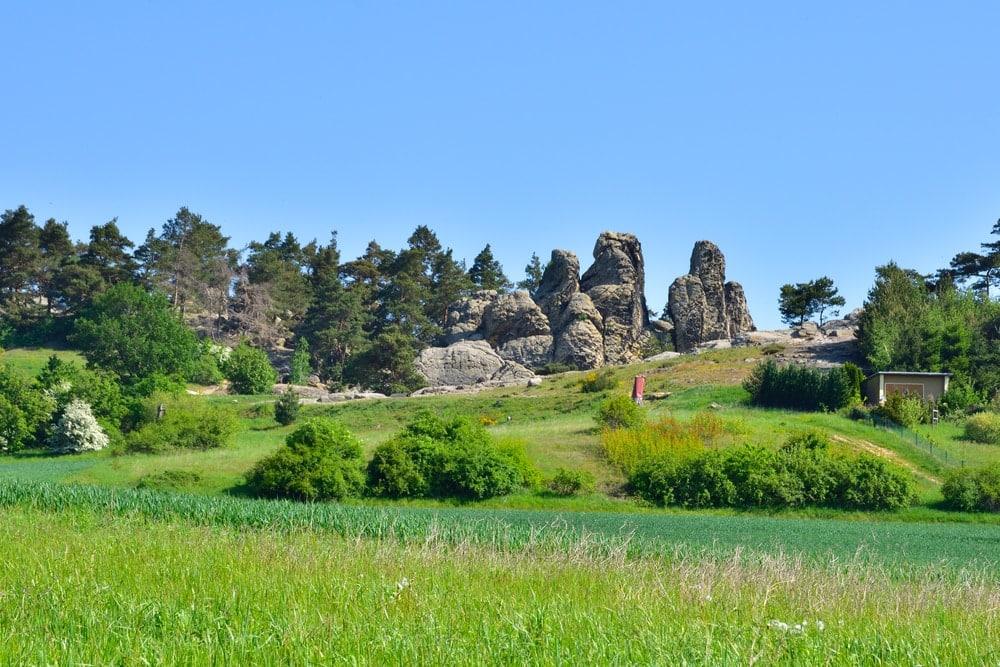 Hogback mountain landscape in Germany
