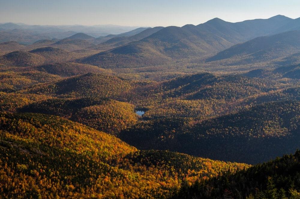 Adirondack Mountain scenic view