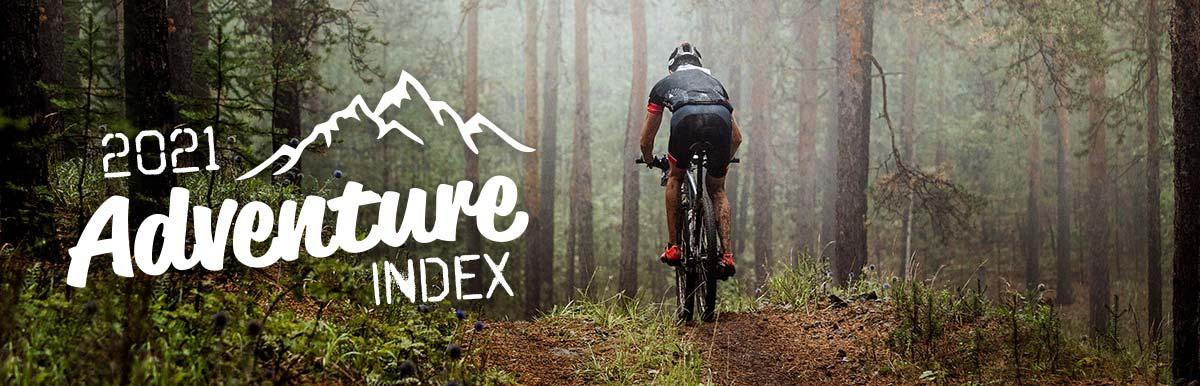 2021 Adventure Index – U.S. States Ranked