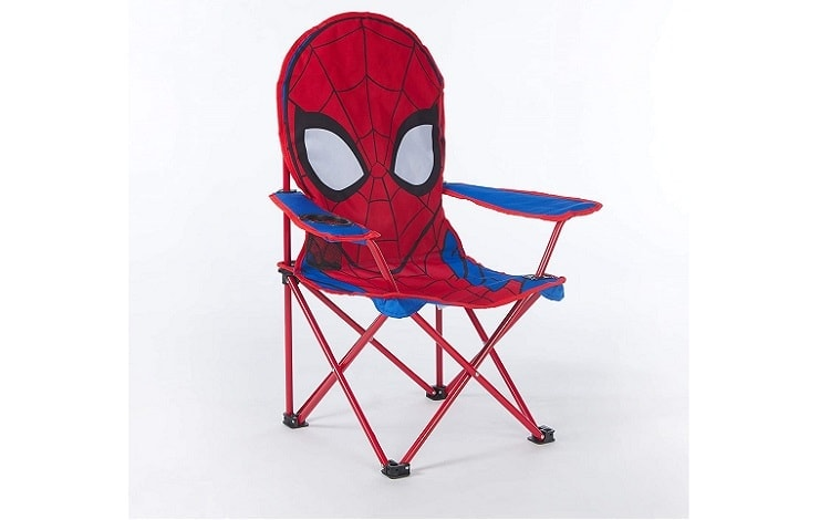 Marvel Spiderman Figural Camp Chair for Kids