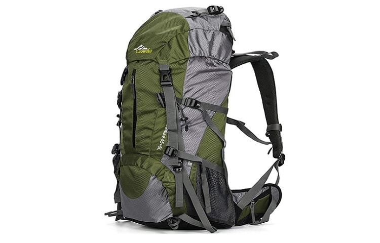 Loowoko Hiking Backpack with Rain Cover Review