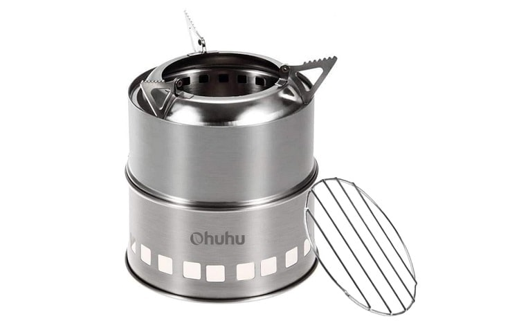 Ohuhu Stainless Steel Backpacking Stove Review