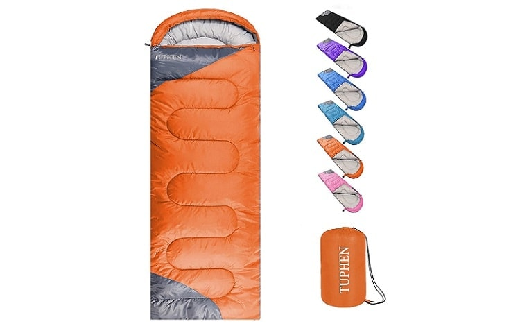 Tuphen sleeping bag Review