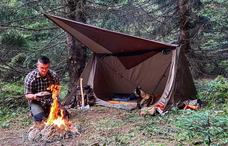 primitive camping gear