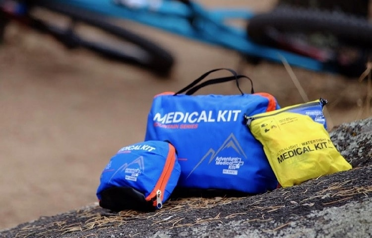 firs aid kit for camping