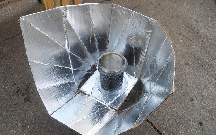 panel solar cooker