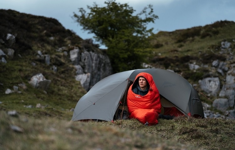 zero temperature sleeping bag