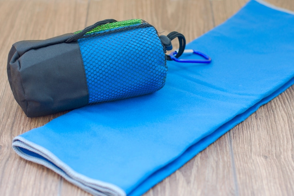 Dry towel for hiking