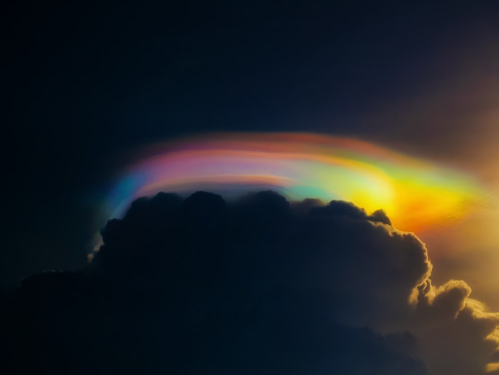 Cap clouds aka Pileus cloud