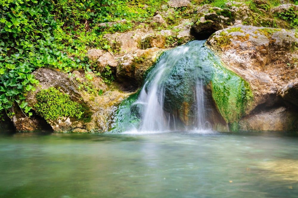 Waterfall at Hot Springs National Park