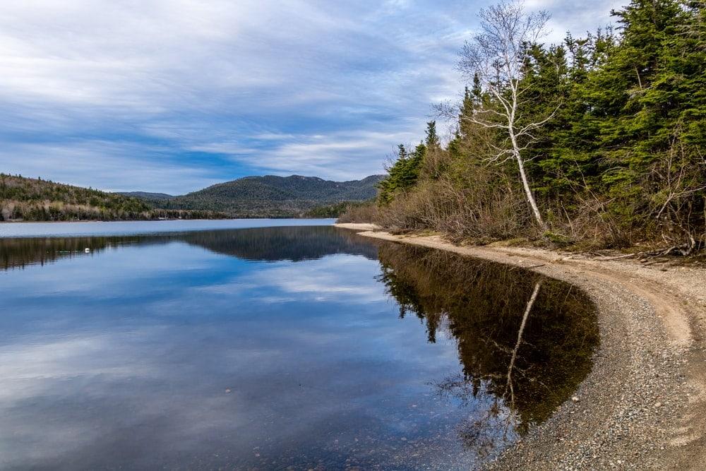 Barachois Pond Provincial Park, Newfoundland, Canada