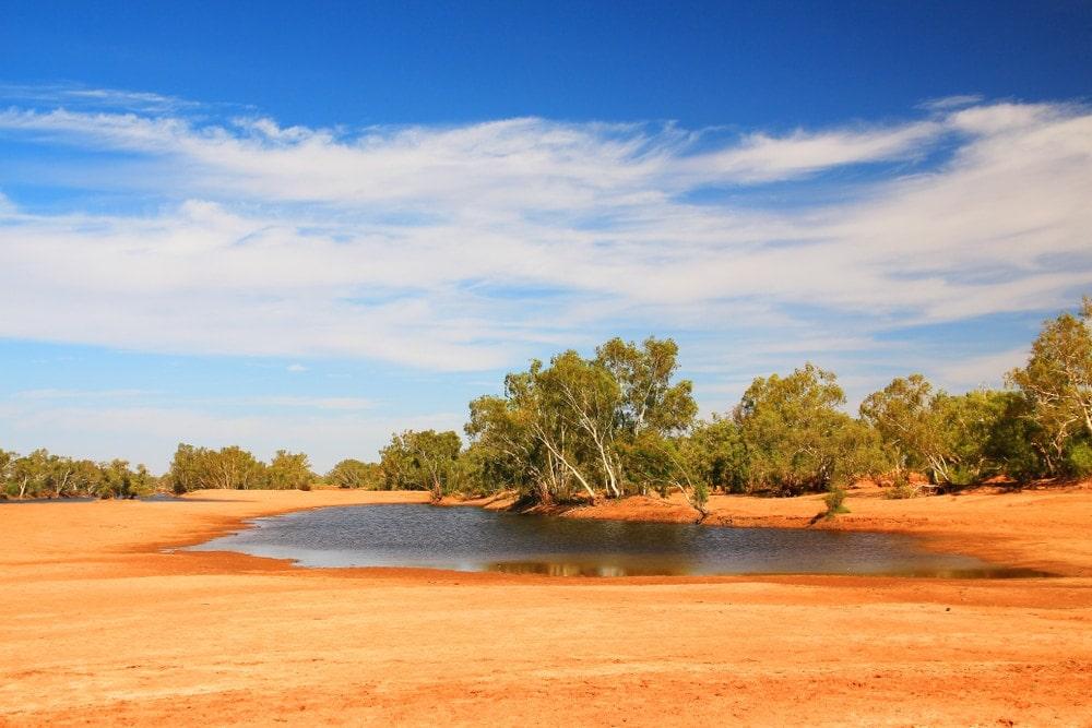 A billabong in Australia