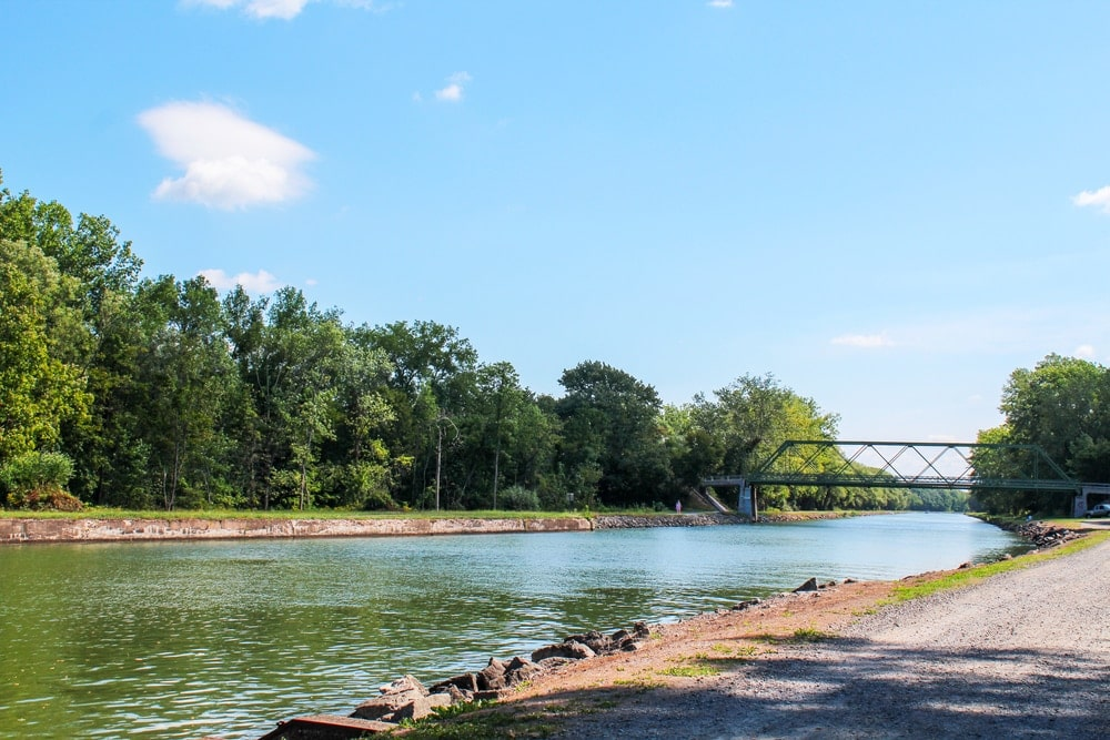 Erie Canal in New York