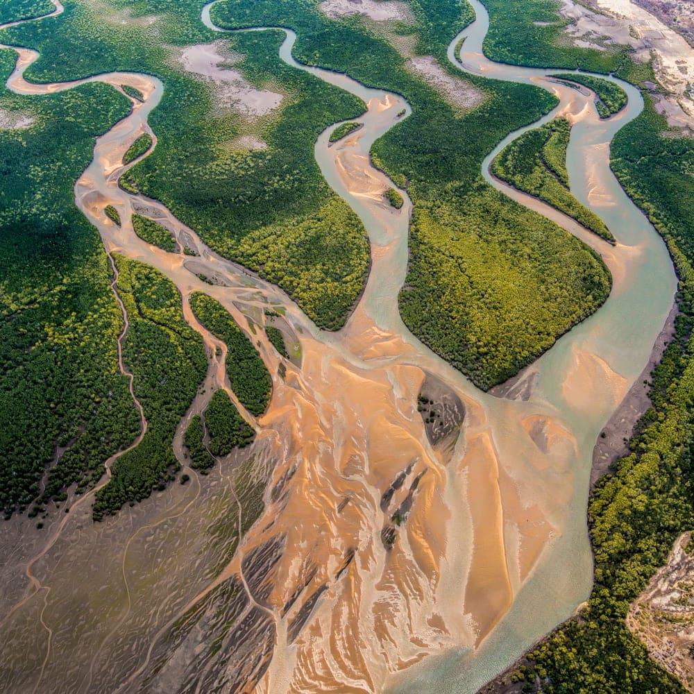 River Delta in Mozambique