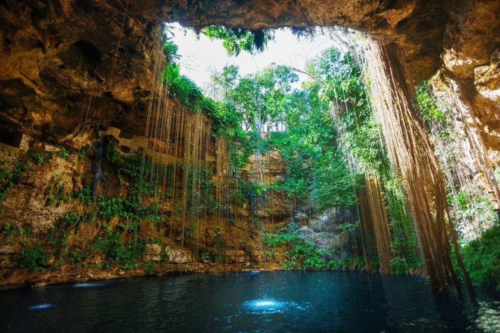 Cenote Karst landform
