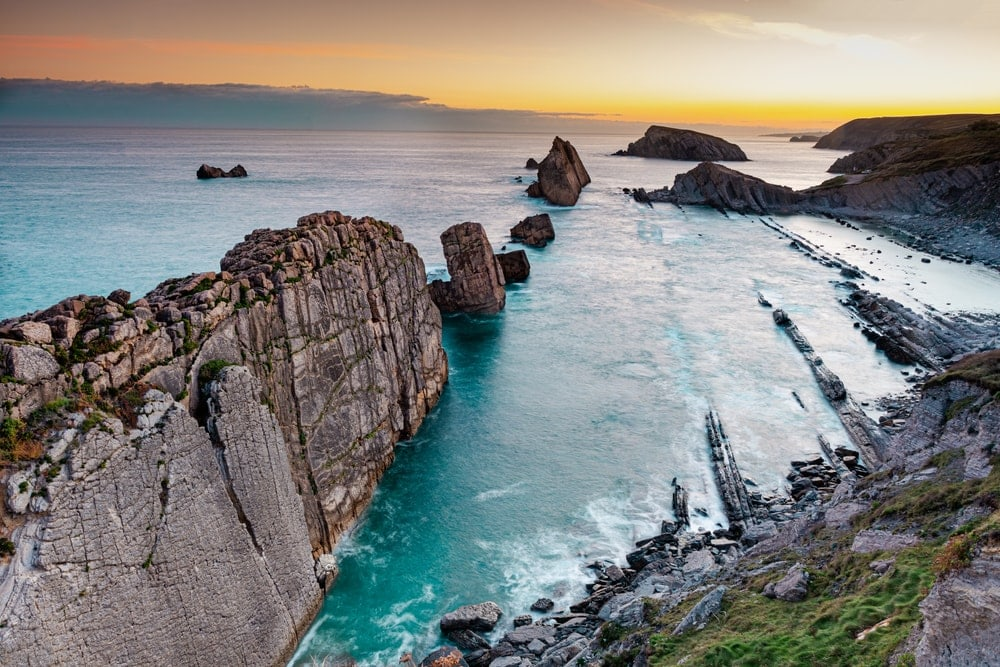 coastal oceanic landform