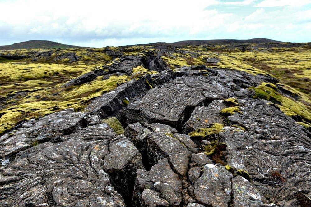 Lava plain volcanic landform