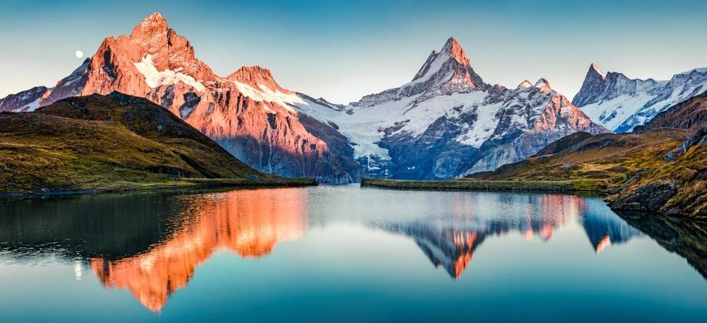Fantastic view of mountain landform