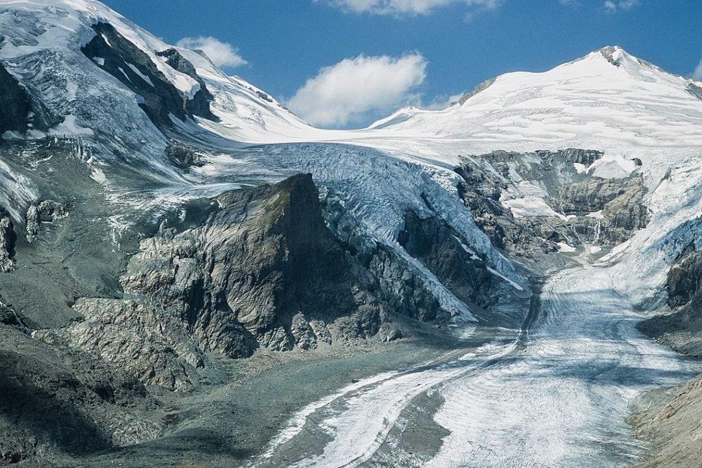 Rock glacier cryogenic landform