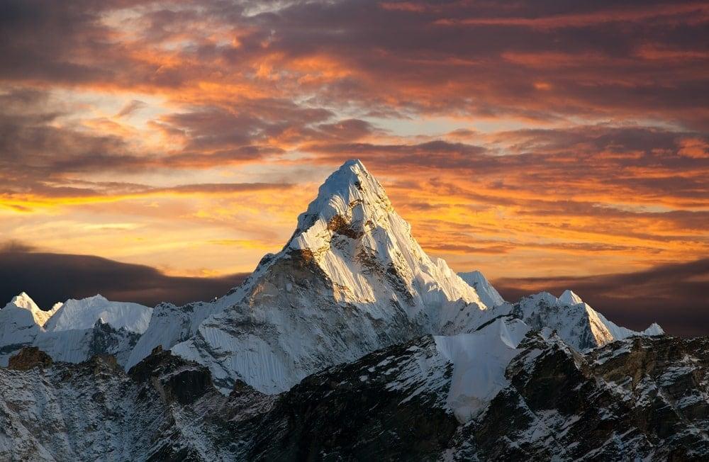 Summit Mountain and Glacial Landform