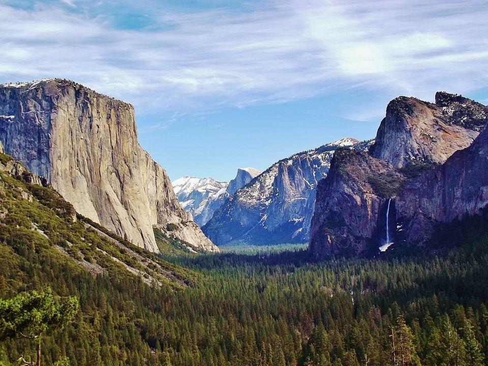 Valley Mountain and Glacial Landform