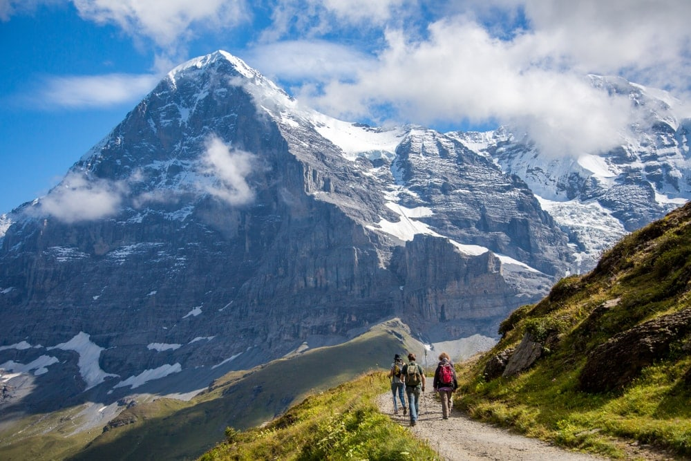 Picture of The Eiger mountain, Switzerland