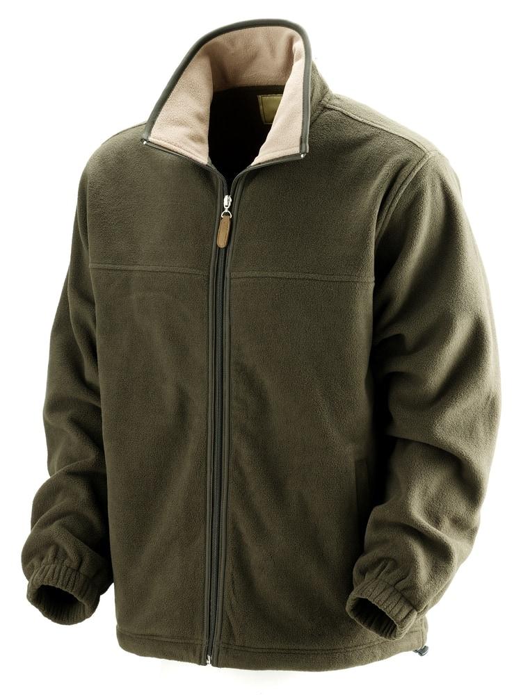 Fleece jacket for outdoors