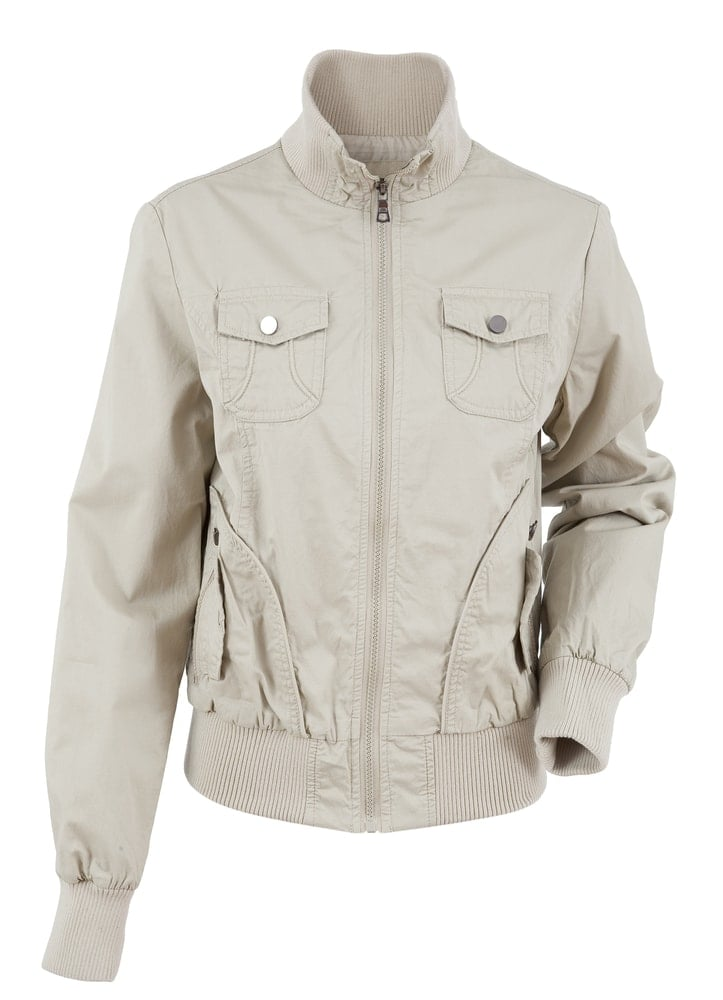Cotton jacket for outdoors