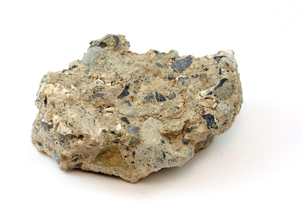 Breccia rock type