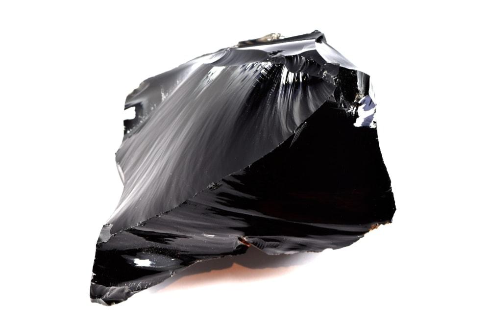 Obsidian rock type